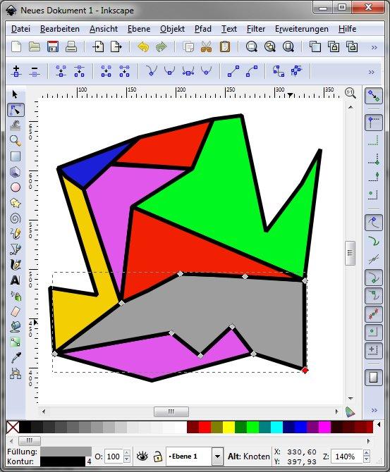 Inkscape Example Document UI